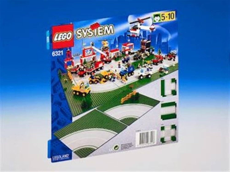 LEGO System Stadt 6321 Kurven B0002HWIZG  Lass unsere Waren in die Welt gehen | München Online Shop