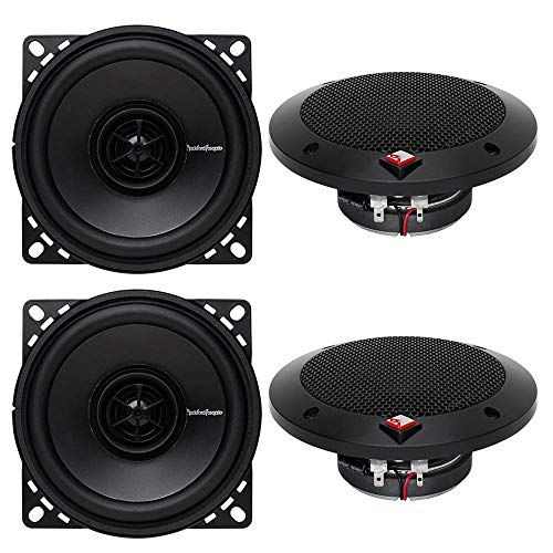 "Price comparison product image Rockford Fosgate R14X2 4"" 120 Watts 2-Way Full Range Car Audio Speakers"