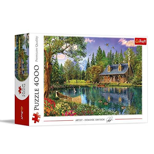 Trefl, Puzzle, Nachmittagsidylle, 4000 Teile, Premium Quality, für Kinder ab 14 Jahren