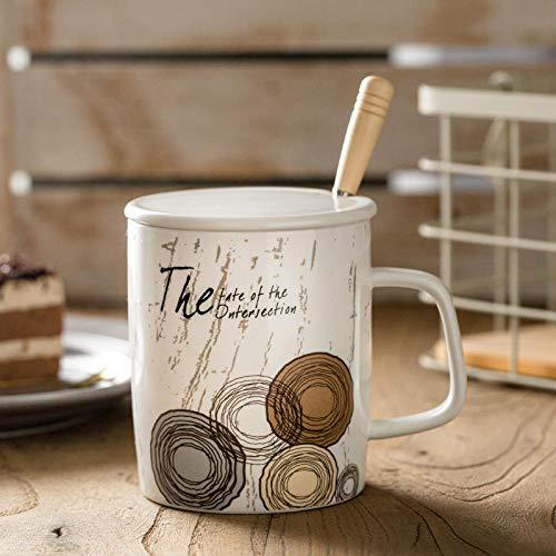 Taza de café - tazas de café espresso |Vajilla de calidad para uso doméstico y de hostelería 400ml 14oz-C