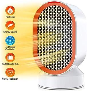 ZP-Heater radiadores electricos bajo Consumo,Calefactor 600W, función Silence, 2 velocidades, fácil de Transportar