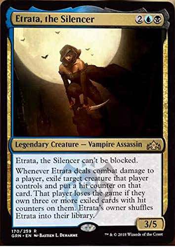 Magic The Gathering - Etrata, The Silencer (170/259) - Guilds of Ravnica