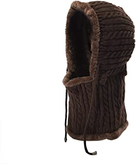 Hat Fashion Hats for Women Beanie Thick Soft Warm Chunky Beanie Fashion Accessories (Color : Brown)