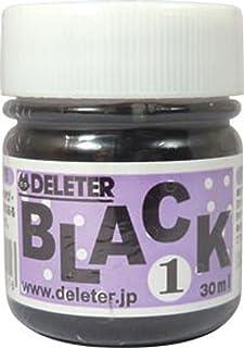 Deleter Manga Ink, Black 1, Basic Black Ink for dip pen & brush, Semi-gloss finish, 30ml/bottle, 1 Bottle (341-0001)
