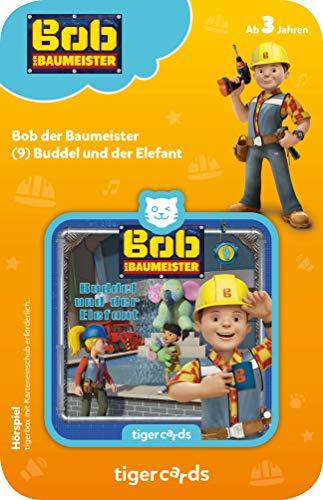 tigermedia 4155 tigercard-Bob der Baumeister-Folge 9: Buddel der Elefant