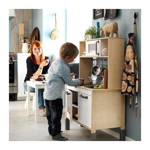 Ikea DUKTIG Spielküche Maße: 72x40x109 cm Ideal für Kleine Küchenmeister und die Ganze Familie. Kinderküche - 2