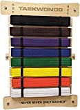 RenKata Taekwondo Belt Display Holder 8 Belts