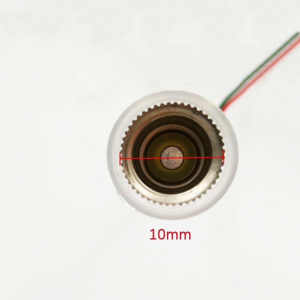 10 x E10 Tornillo Base Bombilla L/ámpara Portal/ámparas 10 piezas