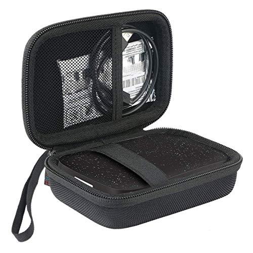 Khanka EVA Duro Caso Recorrido Bolso Funda Estuche Case para HP Sprocket 200 – Impresora fotográfica portátil