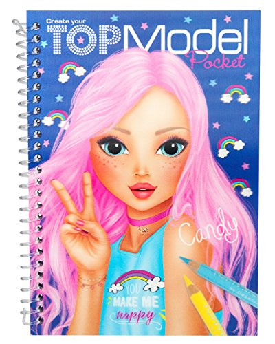 TOPModel 7857 Album da colorare 3d + stickers, modelli assortiti