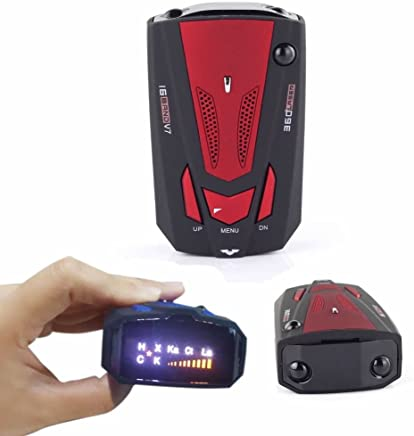 Coolrunner V7 Laser/Radar Detectors 360 Degree Detection Full 16 Band Signal Car Speed Alarm