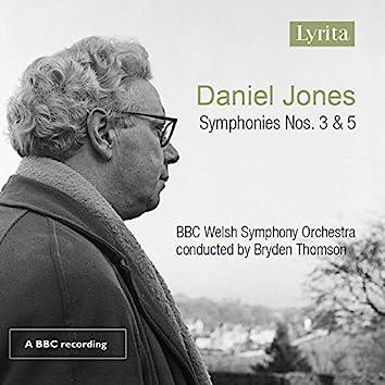 Jones: Symphonies Nos. 3 & 5