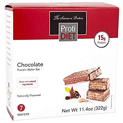 Proti Diet Protein Wafer Bars by Being Well Essentials - 15g Protein