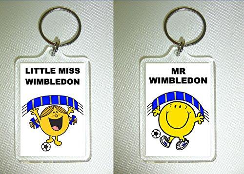 AFC Wimbledon Football Keyring