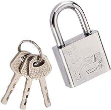 bibididi 30mm RVS hangslot Heavy Duty Solid Lock deur Gate Box Veiligheid Antirust