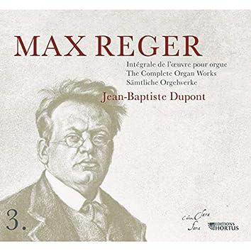 Reger: Intégrale de l'œuvre pour orgue, Vol. 3