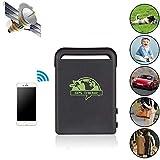 Hangang Mini GPS del Coche GPS localizador, portátil GPS de Seguimiento de Personas Mayores, Rastreador de GPS con SOS...