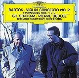 Bartók: Violin Concerto No. 2, Rhapsodies Nos. 1 and 2