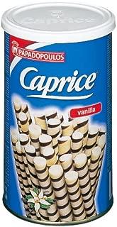Papadopoulos Caprice Vanilla Wafers,8.8 oz