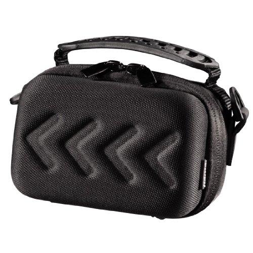 Hama Hardcase Kameratasche für eine kompakte Systemkamera/Videokamera, Hardcase Arrow 80, Schwarz