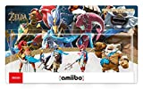 This set includes Daruk amiibo, Mipha amiibo, Revali amiibo and Urbosa amiibo Daruk, Mipha, Revali and Urbosa are all Champions from The Legend of Zelda: Breath of the Wild. With this set, help Link in his battle to protect the Kingdom of Hyrule agai...