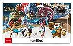 Amiibo 'Collection The Legend of Zelda' - Daruk + Mipha + Revali + Urbosa (Prodiges de The Legend of Zelda: Breath of the Wild)