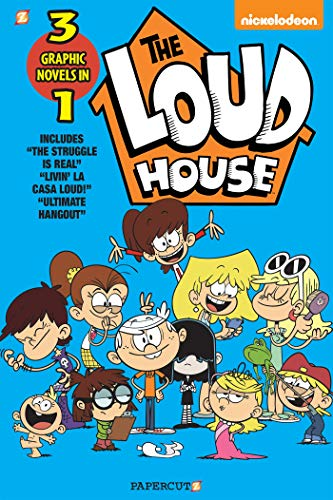 The Loud House 3-in-1 #3: The Struggle is Real, Livin' La...