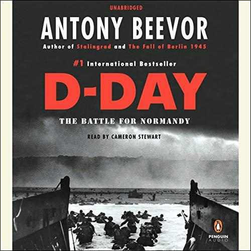 D-Day Audiobook By Antony Beevor cover art