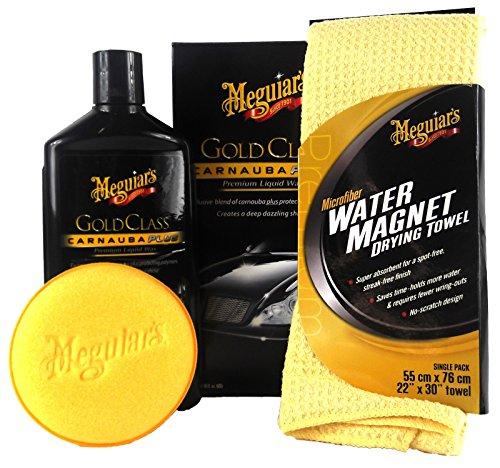 Preisvergleich Produktbild Meguiar's MEGUIARS Gold Class Premium Liquid Wax & Water Magnet Mikrofasertuch