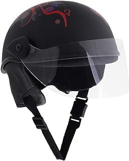Sage Square Aero Unisex Adult Half Helmet (Black Matte) (Large)