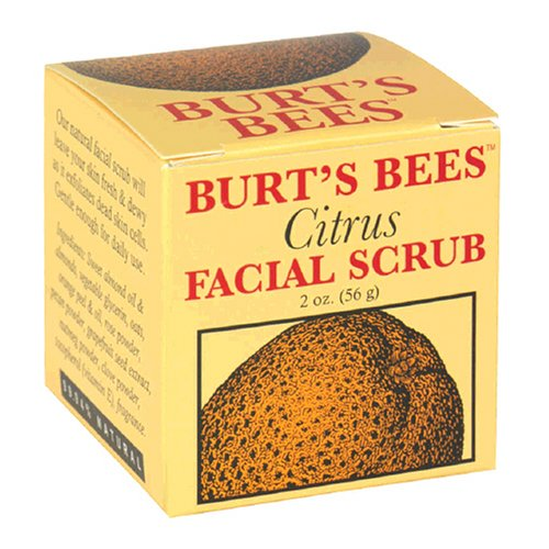 Burt's Bees Citrus Facial Scrub, 2 oz