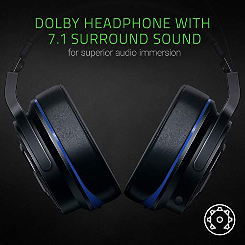 RazerThresher7.1PS4PS5対応Dolby7.1chサラウンドサウンドワイヤレスヘッドセット【日本正規代理店保証品】RZ04-02230100-R3M1ブラック