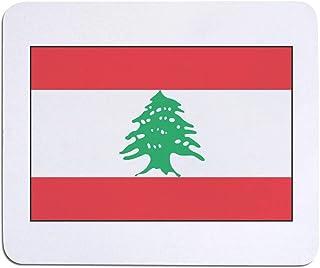 'Lebanon Flag' Mouse Mat / Desk Pad (MO00004184)