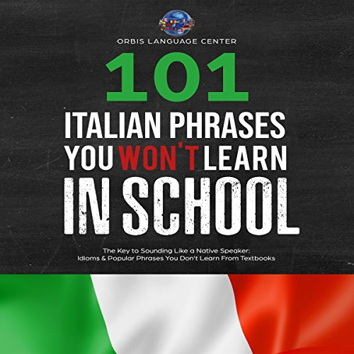 Couverture de 101 Italian Phrases You Won't Learn in School
