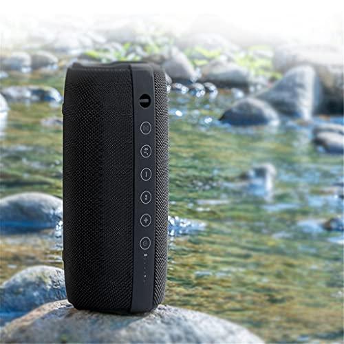 ZZNNN Altavoz Bluetooth inalámbrico subwoofer Sonido hogar 3D Envolvente portátil Coche de Alto Volumen Altavoz Dual Audio