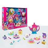 Barbie Dreamtopia Tea Set, Colorful Plastic Set for Tea Parties, Includes 23 Pieces