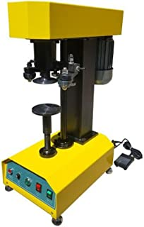110V Electric Desktop Sealing Machine for Cans Plastic Cans Paper Cans Auto Container Capping Machine 85mm Mold