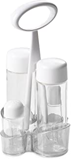 Omada Glass Cruet Set, Transparent