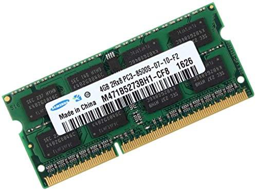 Samsung M471B5273CH0-CF8 - Módulo de memoria (4 GB, DDR3-1066, SO-DIMM, 1066 MHz, 204 pines, CL7, PC3-8500)