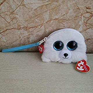 VKISI 2019 Ty Gear Plush Toy Wristlet Kids Toy Coin Purse Monkey Unicorn Dog Husky Flamingo Poodle Owl Cat with Butterfly Animal Doll Thing You Must Have BFF Gifts The Favourite