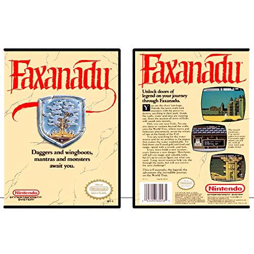 Faxanadu | NES - Game Case