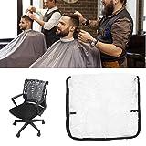 Silla profesional Respaldo Cubierta protectora Transparente Impermeable Cubierta de la silla Protector para peluquería Salón de belleza