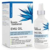 Emu Oil - AEA Certified Pure Moisturizer for Strengthened Hair, Stretch Marks, Scars, Joint & Muscle Pain - For Body,...