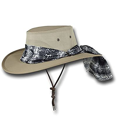 e577cafeff3f93 The Barmah foldaway suede leather hat is made of US pig suede leather and has  3M scotch guard waterproofing. A storage bag is provided.