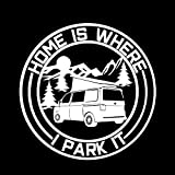 Camping al aire libre Viaje de aventura Tour sin conductor Coche Bus Viaje Logo Signo Etiqueta de la pared Vinilo Calcomanía para automóvil Dormitorio Sala de estar Club Estudio Decoración para e