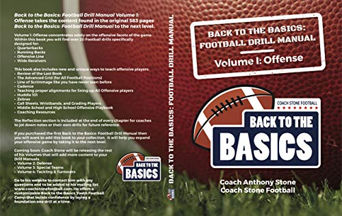 Back to the Basics: Football Drill Manual Volume 1: Offense (English Edition)
