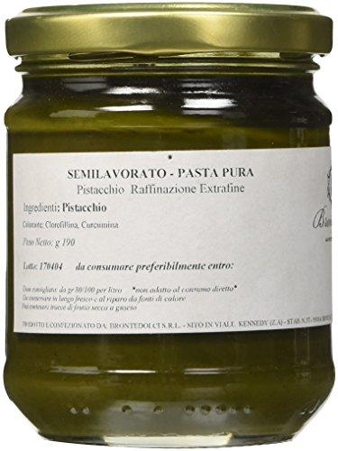 Brontedolci - Pasta di Pistacchio Puro - 100% Frutto - gr. 190