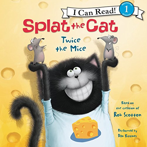 Splat the Cat: Twice the Mice audiobook cover art