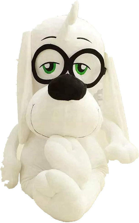 LAIBAERDAN Plüschtier Genius Brille Hund Puppe Junge Plüschtier Ragdoll Kind Geschenk 304265Cm, 65Cm