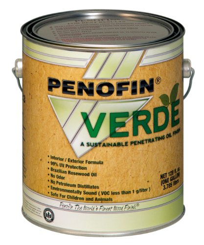 Performance Coatings 733921700895 Penofin Verde Sustainable Wood Finish, 1-Gallon, Natural
